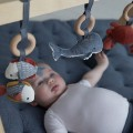 Baby gym stojak pałąk interaktywny Ocean błękit Little Dutch 3