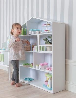 Jabadabado Drewniany Domek Dla Lalek Półka Baby Concept