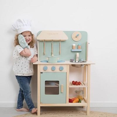 Drewniana Kuchnia Dla Dzieci Little Dutch